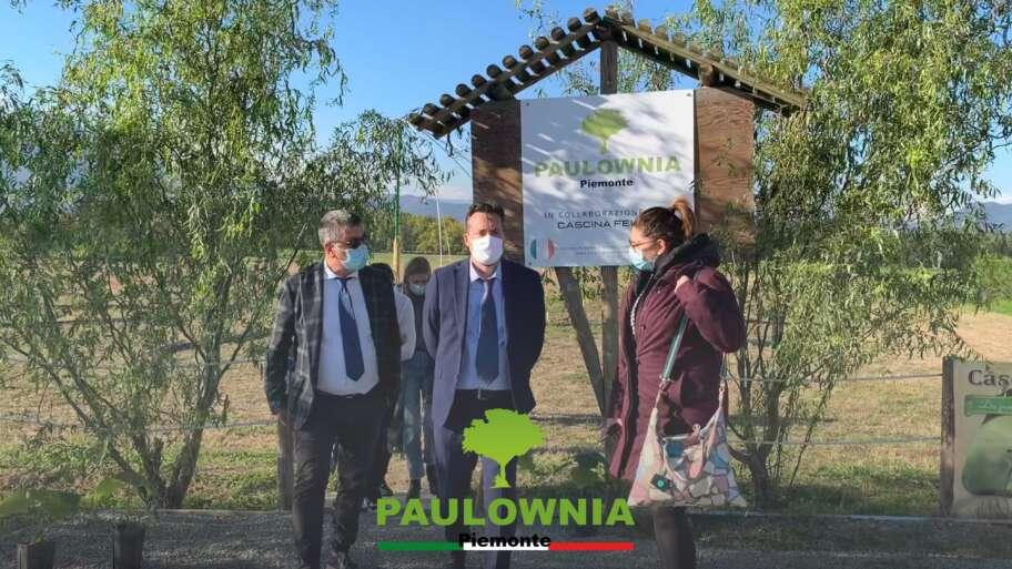 Delegazione di parlamentari e sindaci da Paulownia Piemonte e Cascina Felizia per il modello FAB.